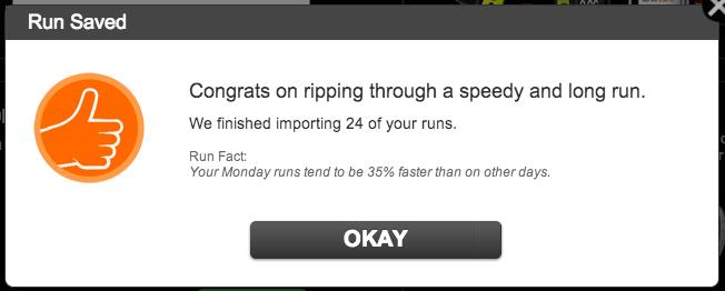 Run fact